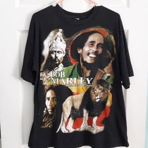 Bob Marley Positive Vibration T Shirt